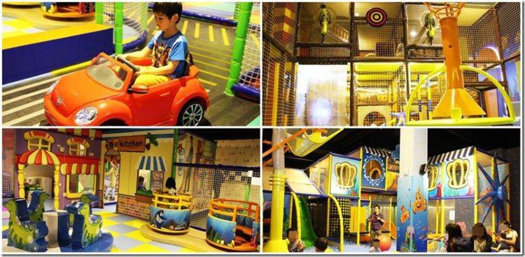 台中。親子遊戲室|【黃金堡親子樂園】在海洋船艙裡玩溜滑梯 電動車跑道 球池 2層大坪數的室內遊戲室 親子一同玩耍囉