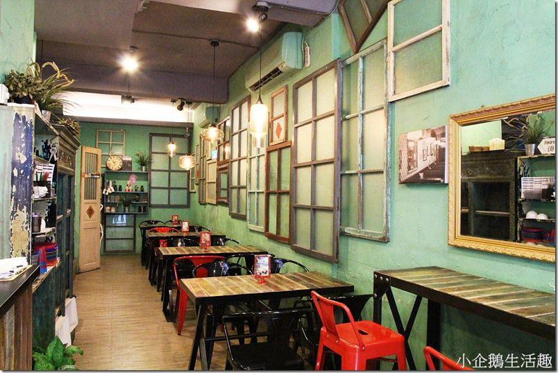 彰化美食。主題餐廳 【喜喜茶室】極具香港復古氛圍的茶室 港式小點好道地