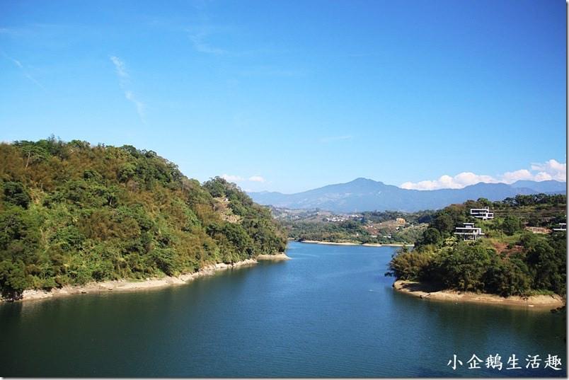 苗栗‧卓蘭二日遊。景點 【景山橋】鯉魚潭水庫美的讓人無法忘懷