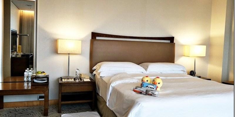 台中。住宿|【裕元花園酒店】親子一同泡澡看高鐵享受大台中的百萬夜景