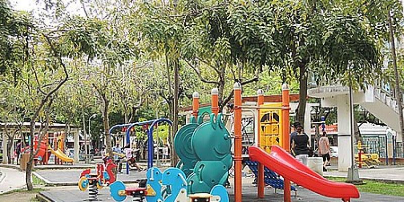 台中。景點|【北屯兒童公園】溜滑梯、盪鞦韆、沙坑~滿滿都是兒童遊樂設施的公園