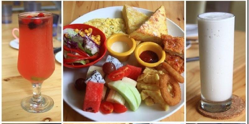 彰化‧員林。美食|【鄉村貝拉】地中海風的餐廳內發現水手服正妹提供美味的早午餐點