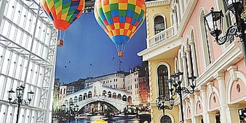 景點‧板橋 走威尼斯風又有許多美食餐廳的《板橋大遠百9F》