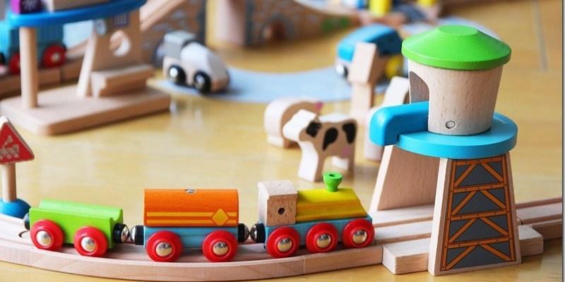 育兒好物 【EverEarth木製軌道車系列】小男生心中夢想的木頭軌道車