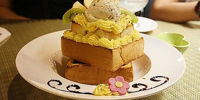 親子餐廳‧台中 能放著讓小朋友玩樂又能享受貴婦下午茶的《蜜糖公主 蜜糖吐司 咖啡館》