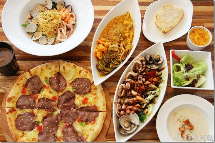 台中‧霧峰。親子餐廳|【Bravo's Pasta】(文內贈獎)全台首創頂級牛舌披薩 溫馨的環境頂級的美味
