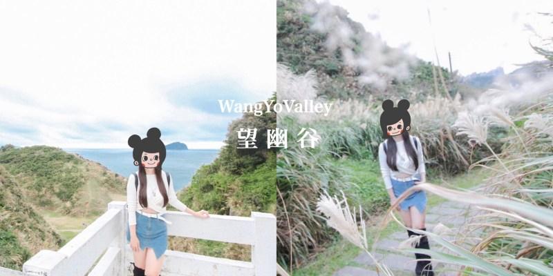 望幽谷(忘憂谷)-基隆八斗子景點|以藍海當背景的V型綠谷 自帶仙氣的芒草秘境