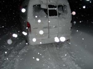 深雪にはまってしまった
