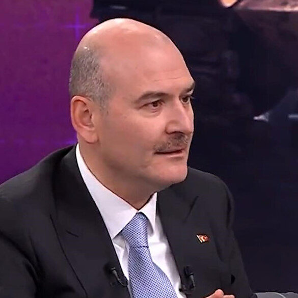 Interior Minister Soylu: It was my moral to hang the martyrs of Eren by his grave