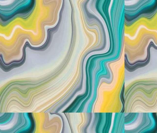 Tapete Abstract Marmorierten Hintergrund Dekorative Achat Textur Flussig Marmorierung Kreativ Bemalt Tapete Grunen Und Gelben Wellenlinien