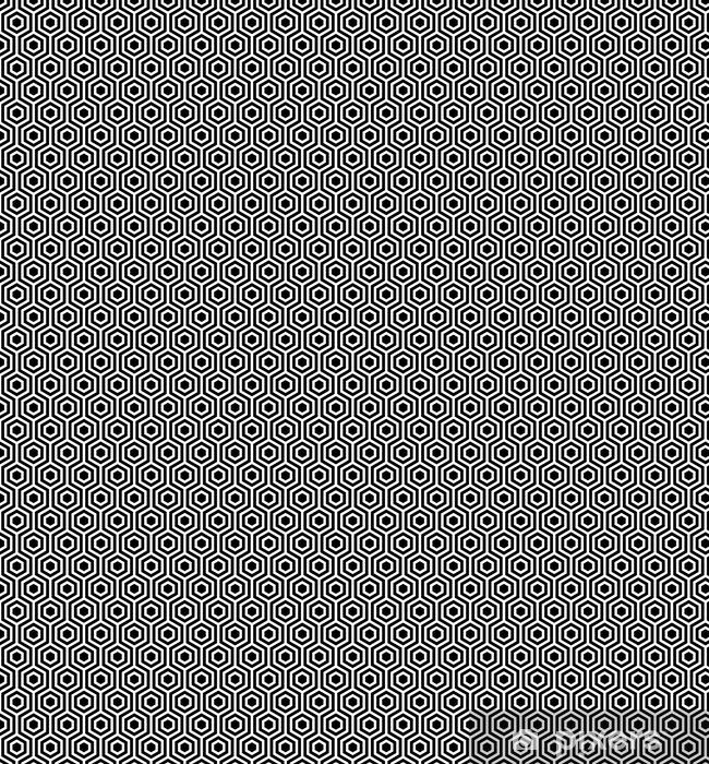 papier peint a motifs modele sans couture de vecteur texture elegante moderne motif geometrique monochrome la calandre avec des carreaux hexagonaux pixers nous vivons pour changer
