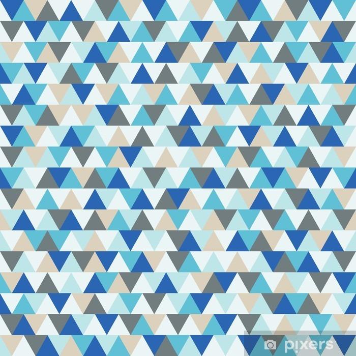 rideau occultant resume triangle vecteur fond motif geometrique de vacances d hiver bleu et gris pixers nous vivons pour changer