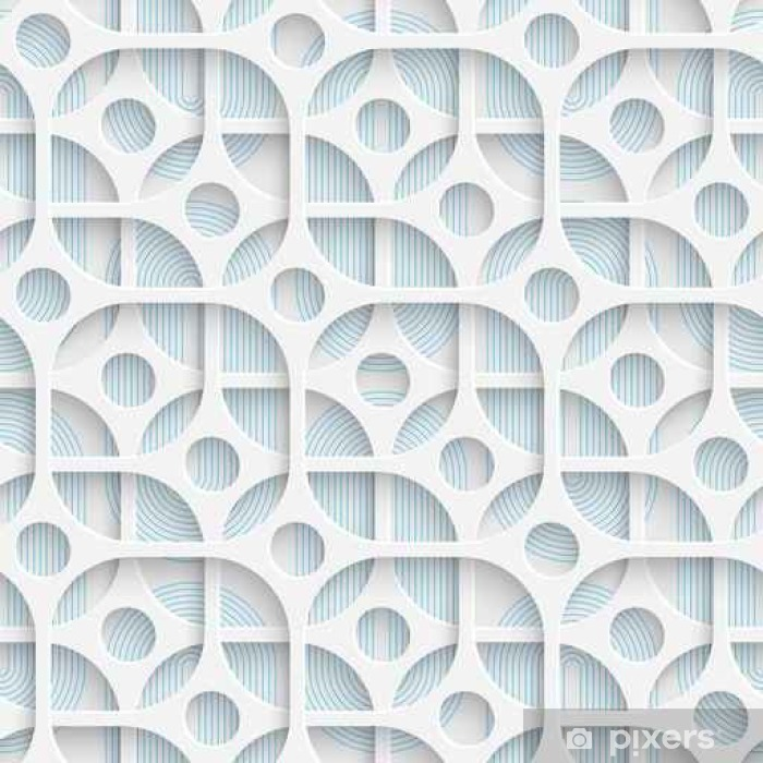 https pixers us wall murals seamless circle and square design futuristic tile pattern 136308908