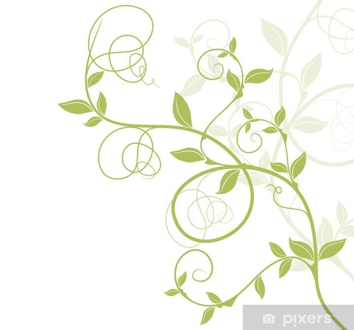 Scalda la carta per 30 secondi. Carta Da Parati Bordure Arredamento Vectoriel Vert Natura Disegno Floreale Pixers Viviamo Per Il Cambiamento