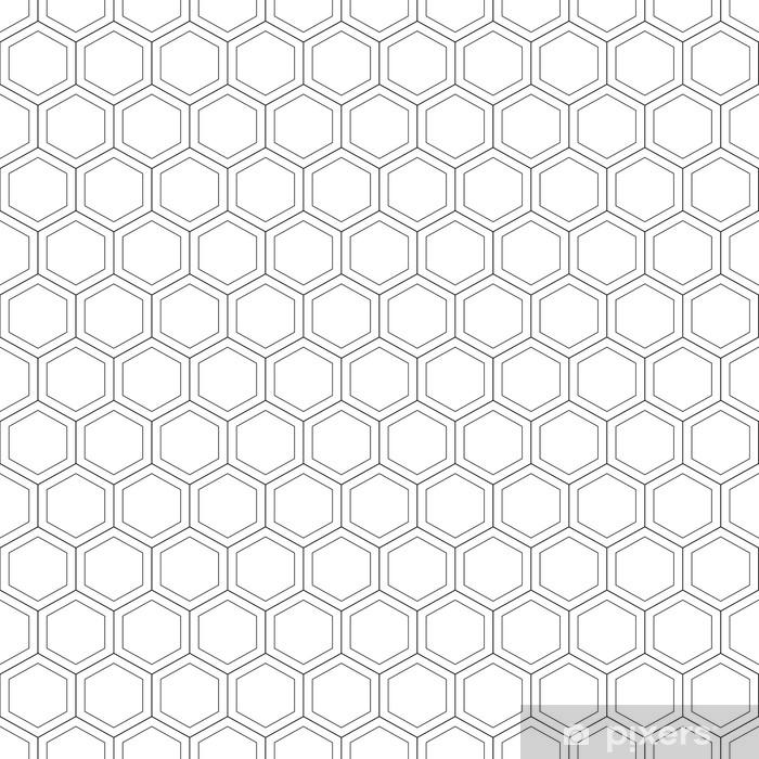 papier peint nid d abeille seamless pattern vector illustration hexagonal texture grille sur fond blanc conception geometrique texture abstraite elegante moderne modele pour impression textile emballage et decoration pixers nous vivons pour