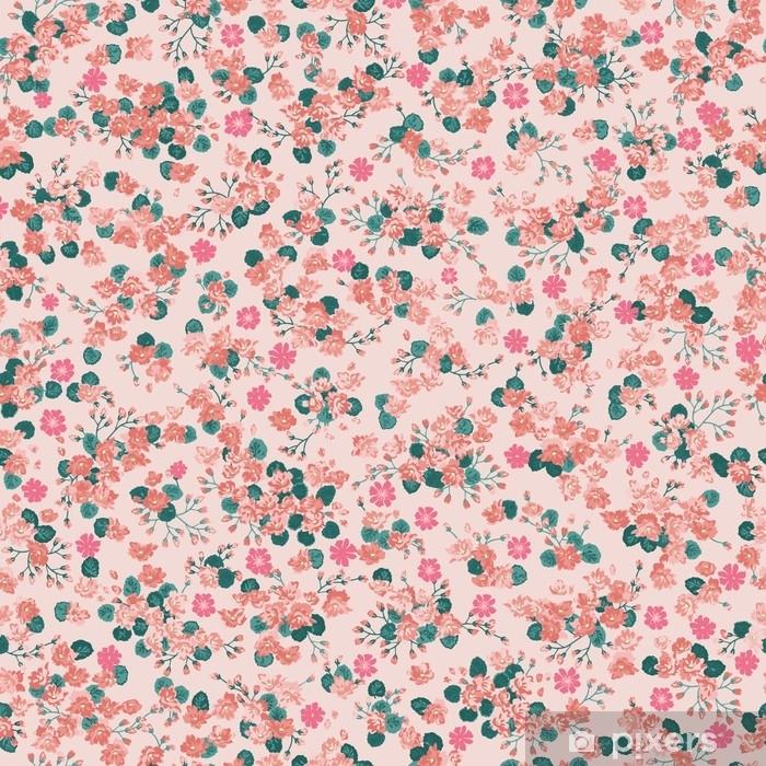 papier peint motif doux simple dans une fleur a petite echelle millefleurs style liberty fond de couleur a la mode sans couture floral pour le textile couvertures de livre fabrication papiers peints
