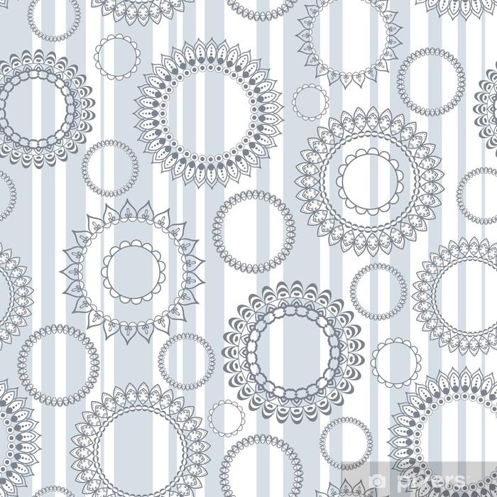 rideau occultant modele vectorielle continue avec cercles ajoures et rayures verticales pixers nous vivons pour changer