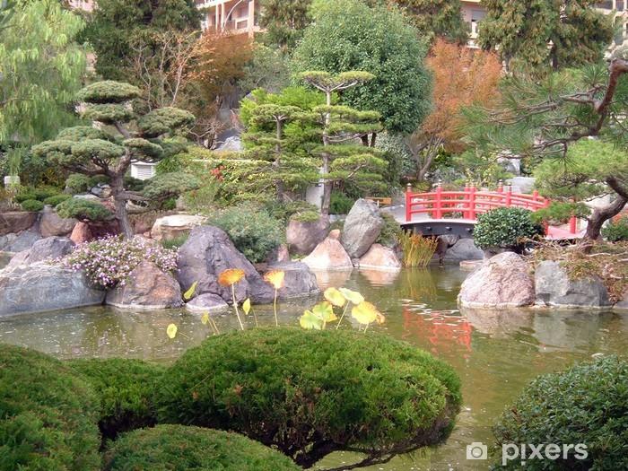 https pixers de fototapeten le jardin japonais 2898950