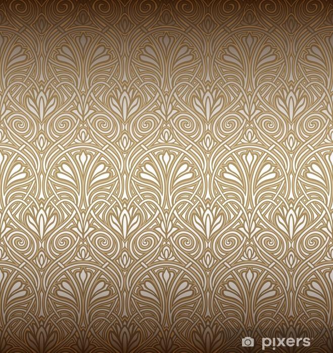 Trova la foto stock perfetta di carta da parati dal design in stile art nouveau. Carta Da Parati Seamless Pattern Art Nouveau Pixers Viviamo Per Il Cambiamento