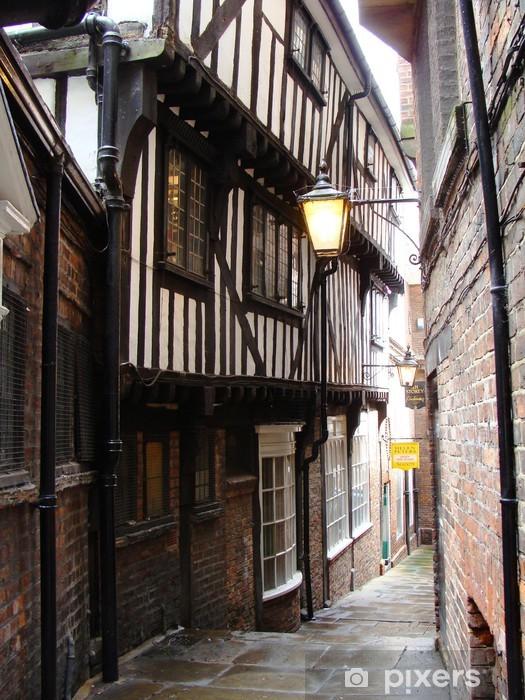 Dimenticate la carta da parati come la conoscete. Carta Da Parati Una Strada Molto Stretta A York In Inghilterra Pixers Viviamo Per Il Cambiamento