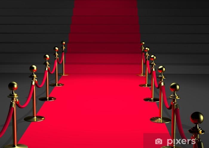 fototapete tapis rouge 3d perspektive pixers wir leben um zu verandern