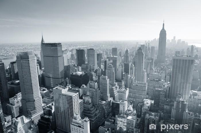 Con la nostra carta da parati new york puoi fare della tua stanza. Carta Da Parati New York City Skyline Di Bianco E Nero Pixers Viviamo Per Il Cambiamento