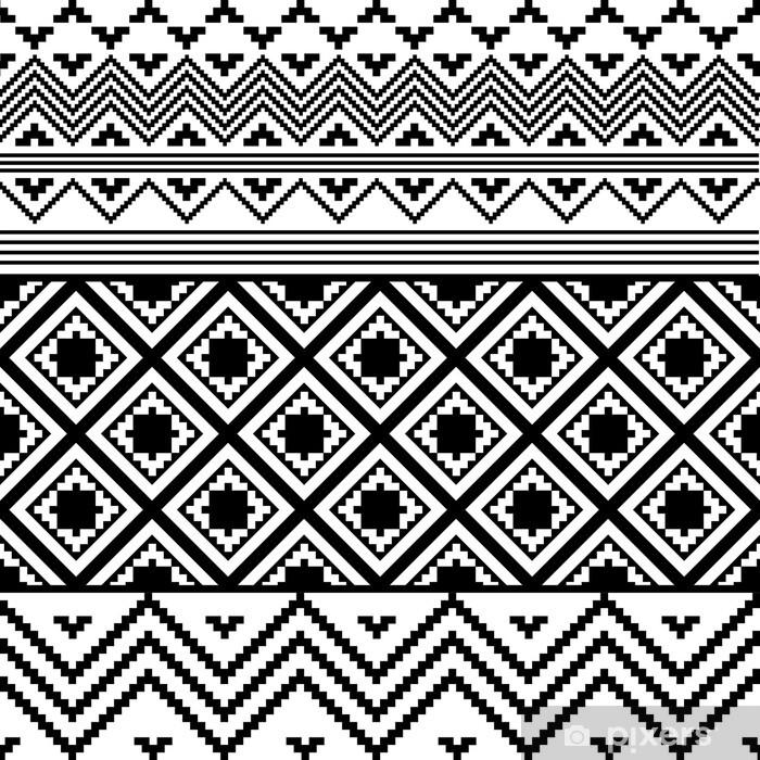 rideau occultant texture ethnique noir et blanc pixers nous vivons pour changer