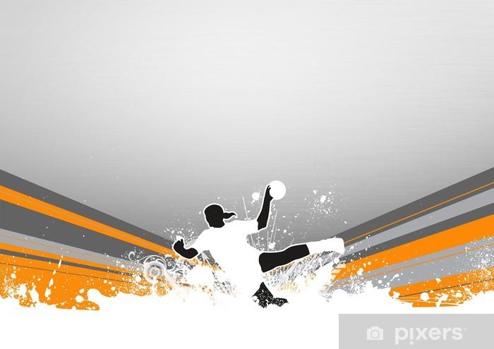 fototapete handball hintergrund pixers wir leben um zu verandern