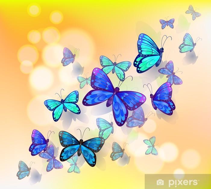 Holden decor 98870 carta da parati collezione enchanted garden, rosa, 10,05 x 0,53 m carta da parati a tema uccelli e farfalle, con dettagli glitter e mica. Carta Da Parati Un Design Carta Da Parati Con Le Farfalle Pixers Viviamo Per Il Cambiamento