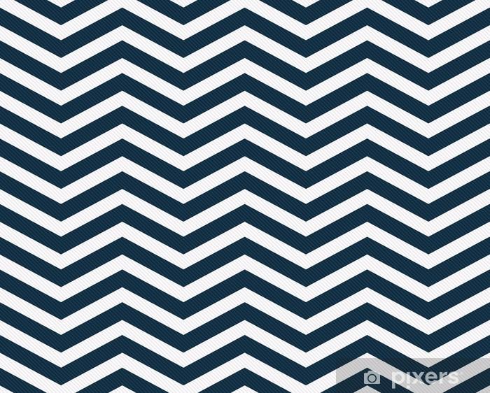 rideau occultant bleu marine et blanc zigzag tissu texture fond pixers nous vivons pour changer