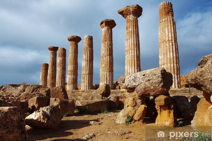 Mettere la carta da parati o tinteggiare? Carta Da Parati Valle Dei Templi Agrigento Sicilia Pixers Viviamo Per Il Cambiamento