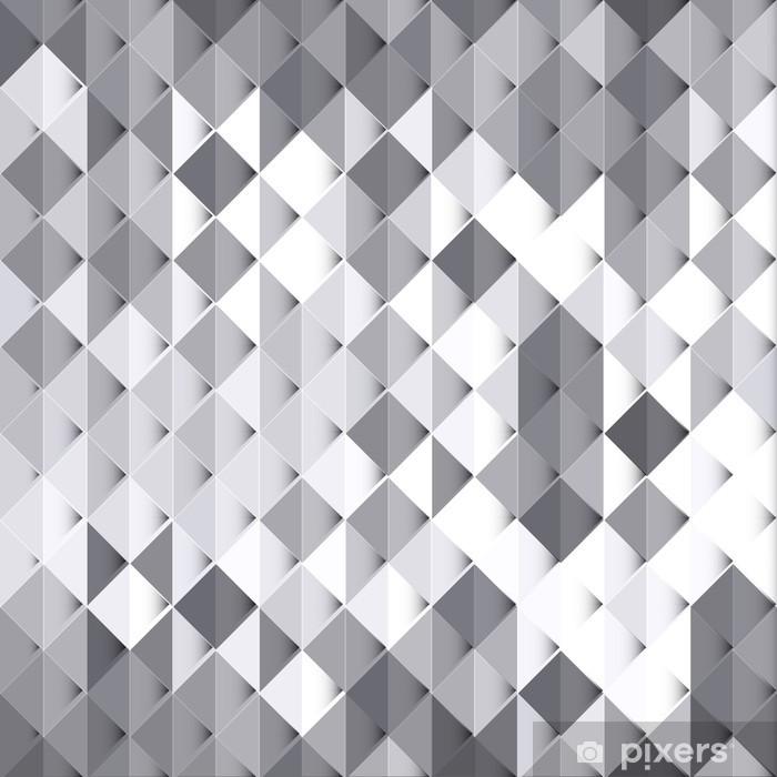 https pixers fr posters style geometrique abstrait fond blanc et gris 64848037