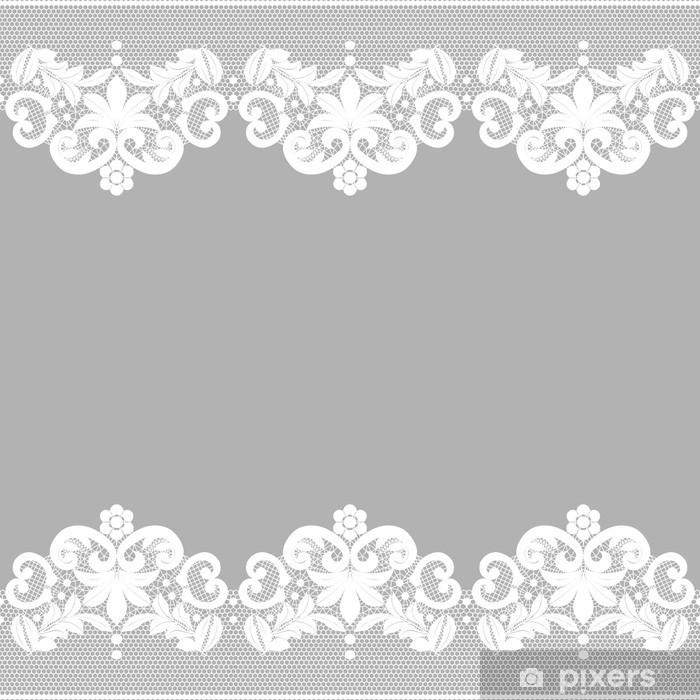https pixers fr rideaux occultants dentelle blanche sur fond noir 66942248