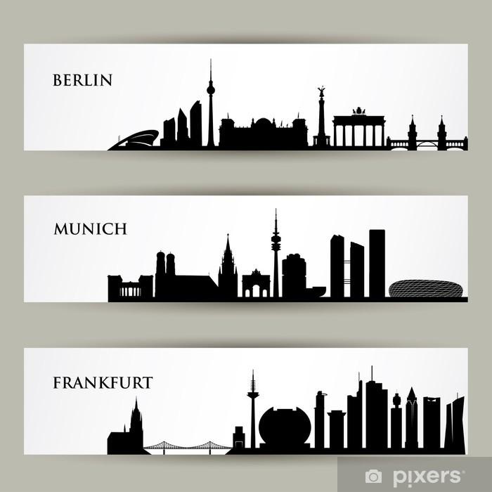 Set carta da parati savanna adventure. Carta Da Parati City Skylines In Germania Pixers Viviamo Per Il Cambiamento