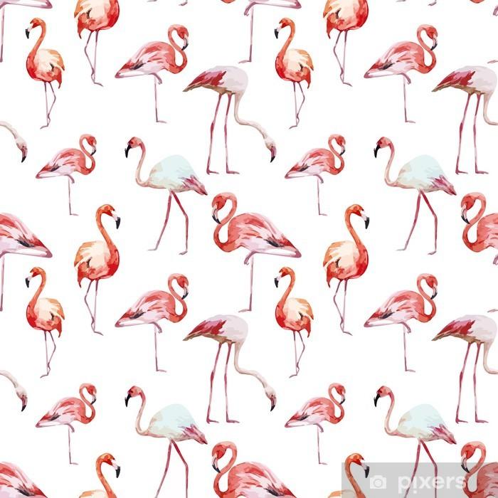 https pixers fr tapis de bain motif flamant rose 78534767