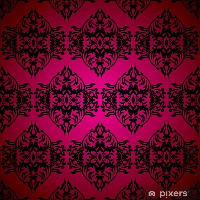 Lasciate che sia la carta da parati a parlare, e non sopraffarla con colori vivaci in altre zone della stanza. Red And Black Gothic Wall Mural Pixers We Live To Change