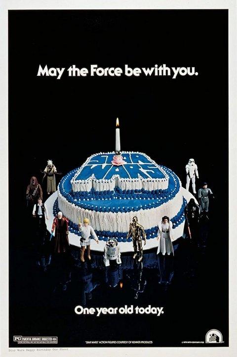 posters d anniversaire star wars