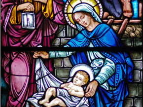 """Called in the Gospels """"the mother of Jesus,"""" Mary is acclaimed by Elizabeth, at the prompting of the Spirit and even before the birth of her son, as """"the mother of my Lord.""""In fact, the One whom she conceived as man by the Holy Spirit, who truly became her Son according to the flesh, was none other than the Father's eternal Son, the second person of the Holy Trinity. Hence the Church confesses that Mary is truly """"Mother of God"""" ( Theotokos ). (CCC 496)"""