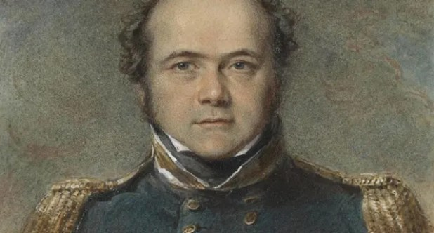 Capitán Sir John Franklin.-