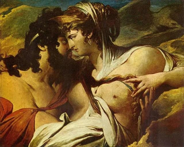 Hera siempre es representada con una corona, que la distingue entre todas las demás diosas.
