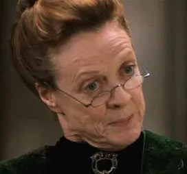 Image result for minerva mcgonagall and violet crawley