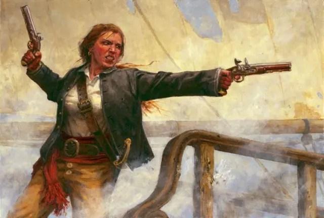 Ambas quedaron para la historia como las únicas mujeres pirata.
