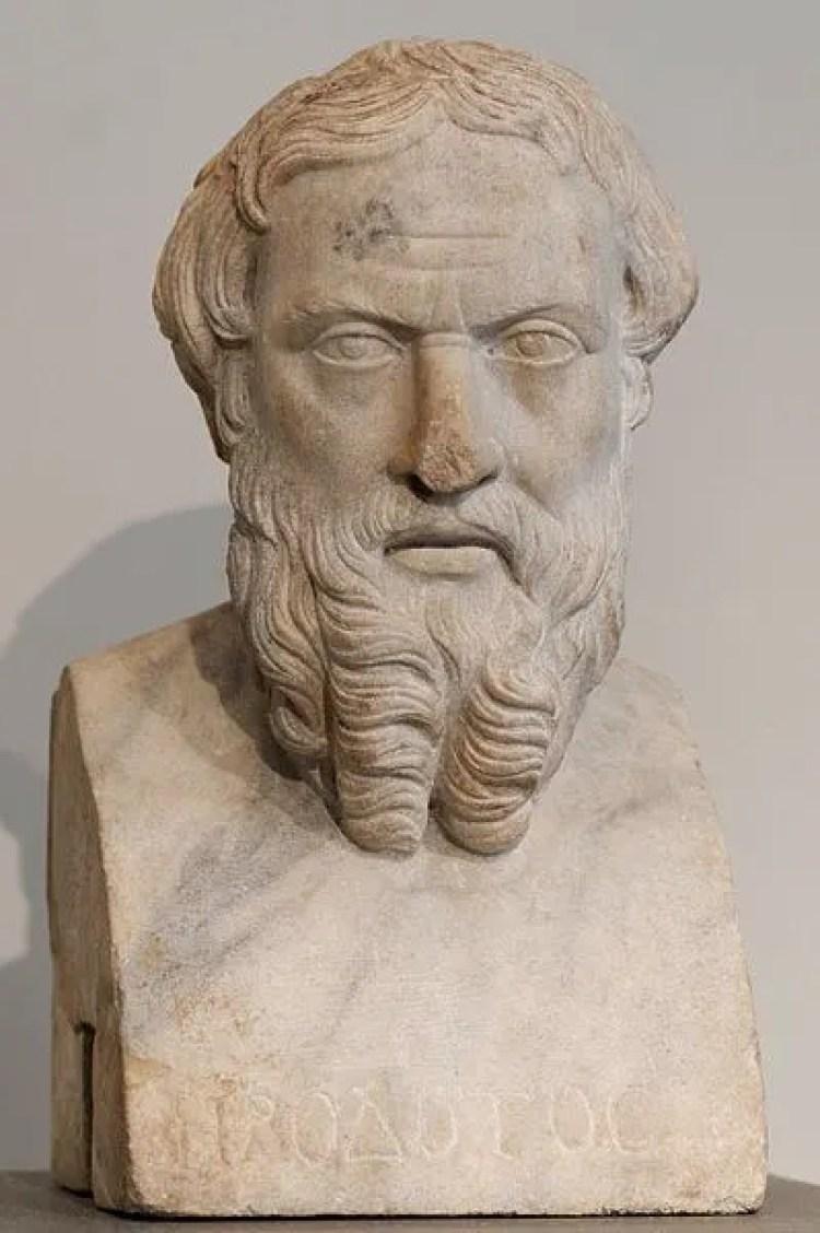 """Heródoto, chamado antigamente de """"pai da Mentira"""""""