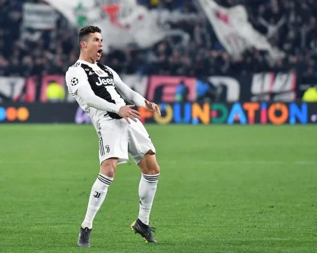 No primeiro desafio após os anos de glória em Madri, Cristiano Ronaldo mostrou seu poder de decisão contra um antigo rival. O Atlético venceu por 2 a 0 e ficou bem encaminhado. Mas o português anotou um hat-trick no jogo de volta e levou a Velha Senhora às quartas de final com a vitória por 3 a 0 em Turim. (Foto: Alessandro Di Marco/EFE)