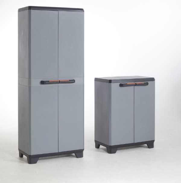 castorama lot de 2 armoires resine 1