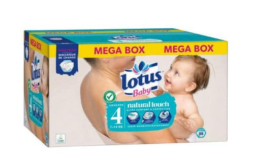 Carrefour Pack Couches Baby Touch Lotus 897 70 De