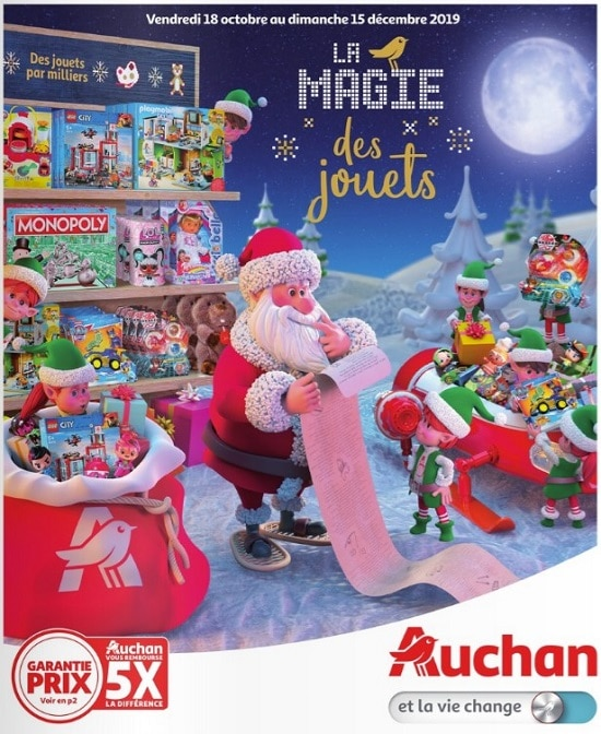 catalogue auchan jouets de noel 2019