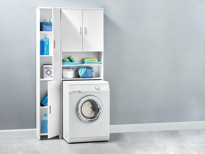 lidl meuble pour machine a laver ou