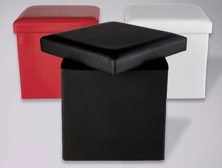 pouf pliant 38 x 38 cm pas cher a 4 99