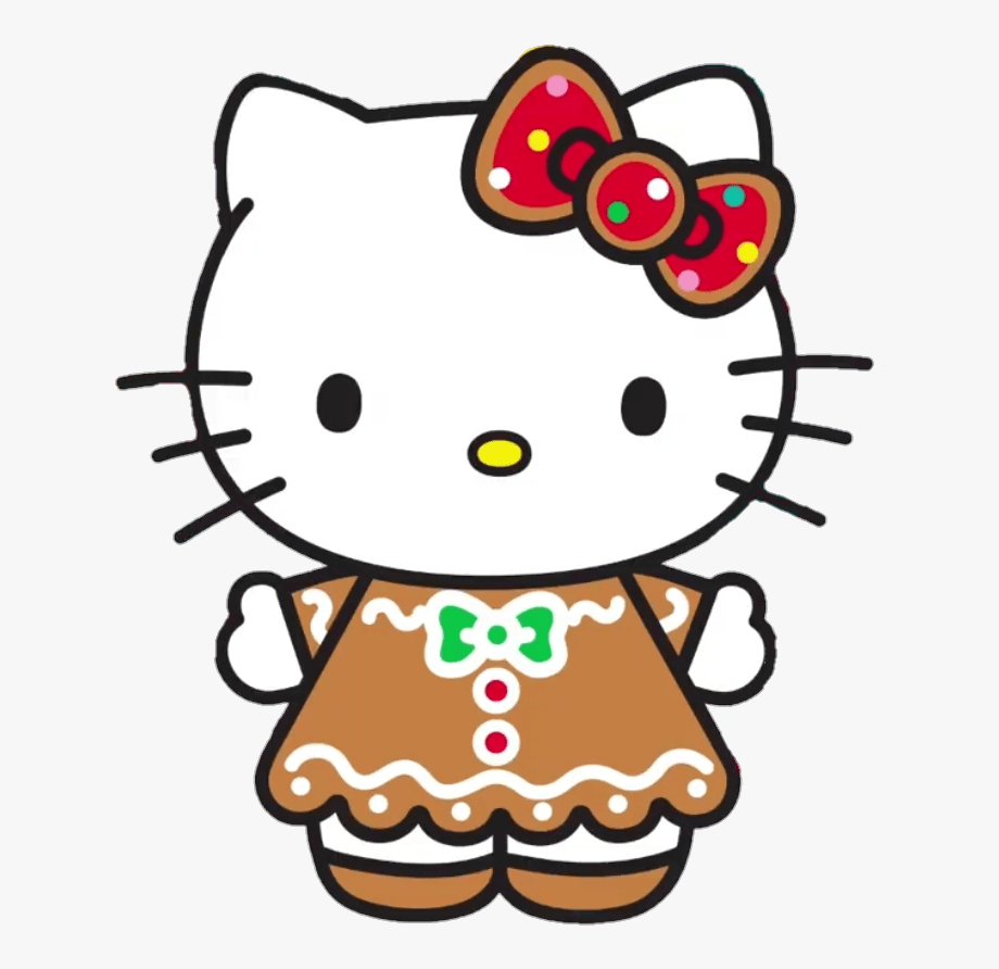 Hellokitty Christmas Kawaii Sanrio F 1001212 Png Images Pngio